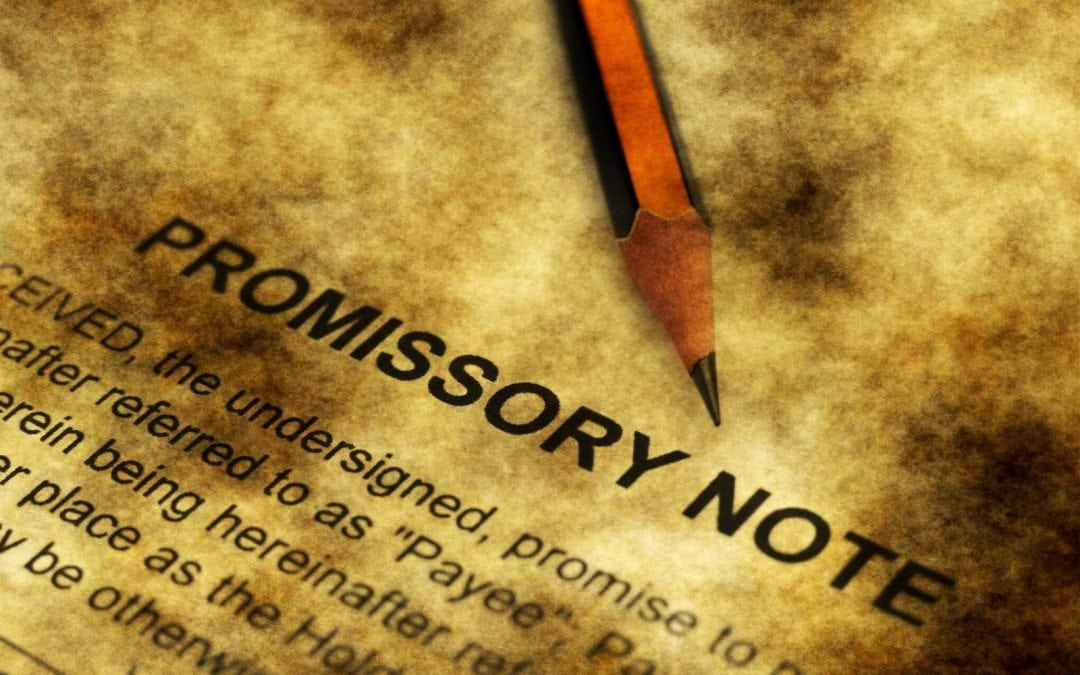 Can I Just Use a Promissory Note?